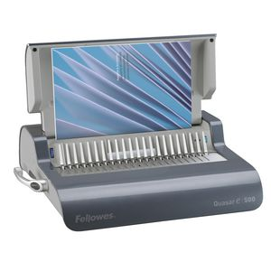 Fellowes Quasar E 500 Electric Comb Binding Machine