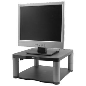 Fellowes Premium Basic Monitor Stand Grey