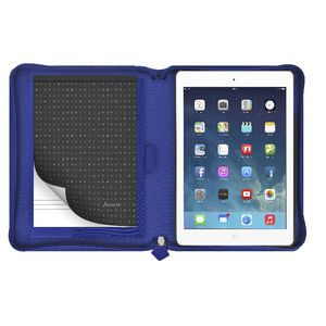 Filofax Pennybridge iPad Air Case with Notepad Blue