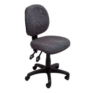 Rapidline Operator Chair Semi Ergonomic Medium Back Charcoal