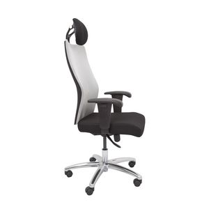 Rapidline AM300 Executive High Back Mesh Chair Silver