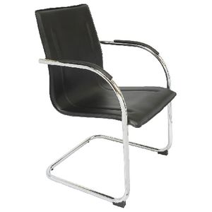 Rapidline Comfo Cantilever Base Chair Black