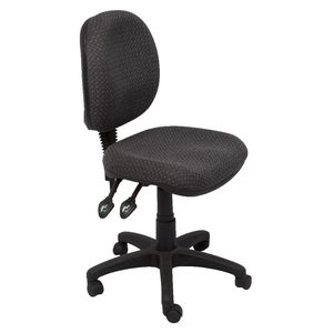 Rapidline Operator Chair High Back Charcoal Officeworks