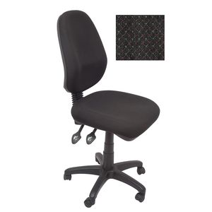 Rapidline Operator Chair High Back Fully Ergonomic Charcoal