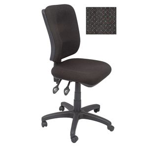 Rapidline Operator Chair Square Back Fully Ergonomic Charcoal