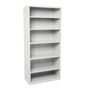 Go Shelving Unit Silver Grey