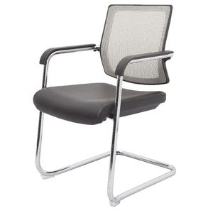 Rapidline Mesh Back Visitor Chair Silver
