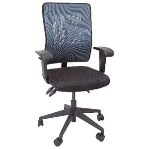Operator Mesh Back Chair Aqua