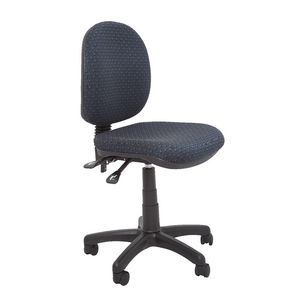 Rapidline Operator Medium Back Chair Blue