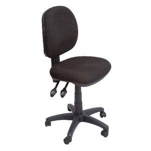 Rapidline Operator Medium Back 3 Lever Ergonomic Chair Black