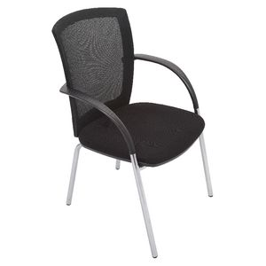 Mesh Back Visitor Chair Black