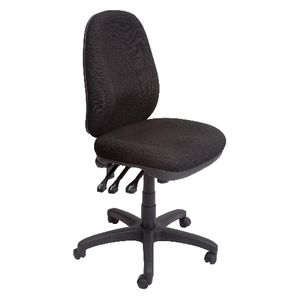 Rapidline Executive Operator Chair Heavy Duty  Black