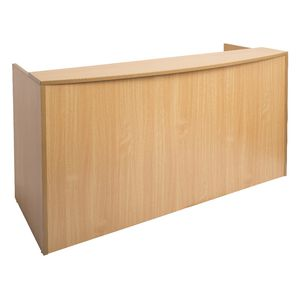 Rapidline Reception Counter 1800mm Beech
