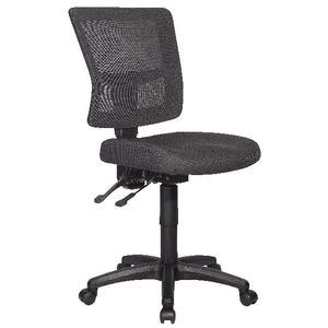 Rapidline River Operator Chair Mesh Back Black