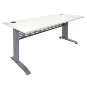Rapidline Rapid Span Desk 1200 x 700mm White Silver
