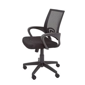 Rapidline Vesta Mesh Back Chair Black