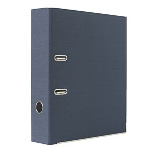 Lever Arch File with Cloth Finish Ink Blue