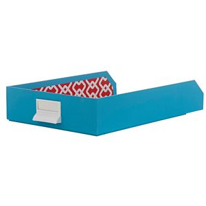 Document Tray Blue