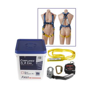 First Construction Workers Fall Protection Kit