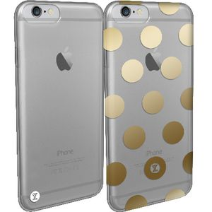 She Extreme Elle iPhone 6 Case Gold Dot and Clear