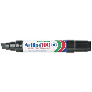 Artline 100 Permanent Marker Black
