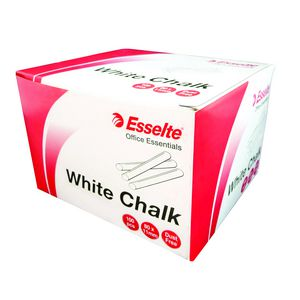 Esselte Chalk White, Box/100