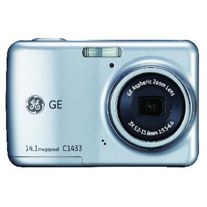 GE C1433 Digital Camera Silver