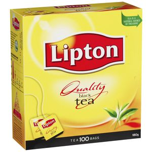 Lipton Quality Black Tea Bags 100 Pack