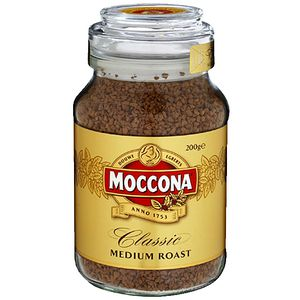 Moccona Classic Medium Roast Coffee 200g Jar