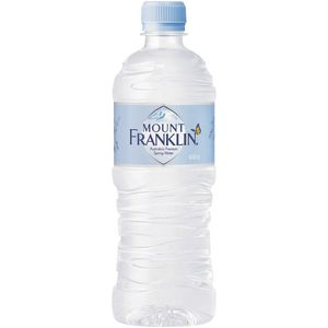Mount Franklin Spring Water 600mL