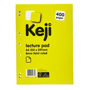 Keji A4 Giant Lecture Pad 400 Page