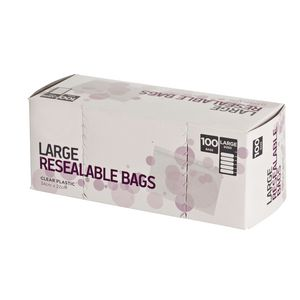 Order Resealable Bags Large Pack/100