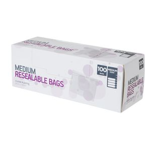 Order Resealable Bags Medium Pack/100