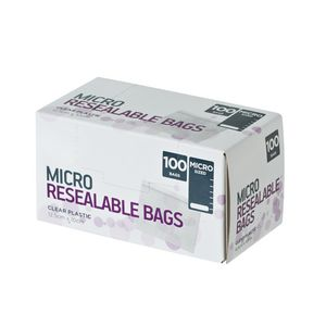Order Resealable Bags Micro 100 Pack