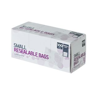 Order Resealable Bags Small Pack/100