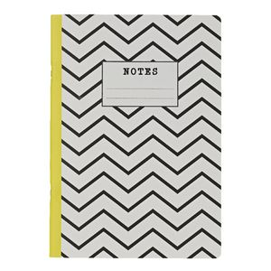 Go Stationery A4 Exercise Book Monochrome Chevron 56 Page