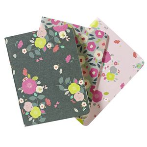 Go Stationery Pocket Notebooks Camden Floral 3 Pack