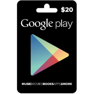 Google Play Gift Card $20