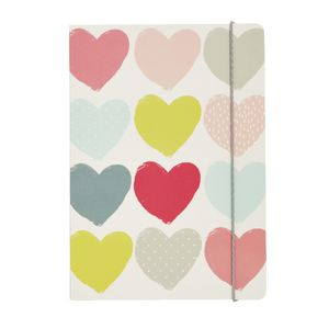 Go Stationery A5 Notebook Hearts