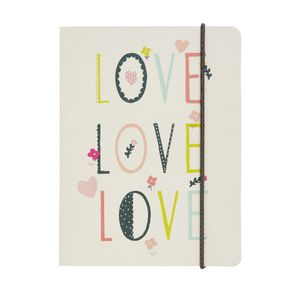 Go Stationery A6 Chunky Notebook Hearts