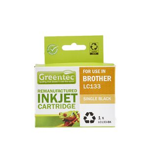 Greentec Brother LC133 Ink Cartridge Black