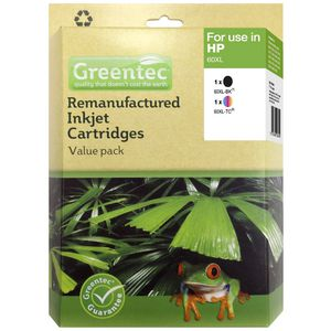 Greentec HP 60XL Ink Cartridge 2 Pack