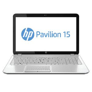 HP Pavilion 15-E001AU Notebook White
