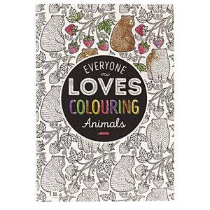 Hinkler Everyone Loves Colouring Book Animals