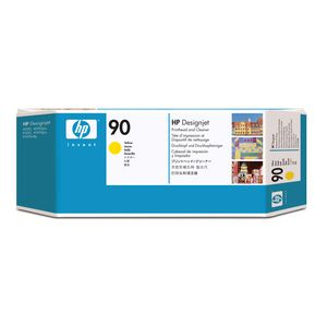 HP 90 Printhead and Printhead Cleaner Yellow