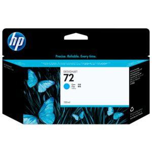 HP 72 Ink Cartridge Cyan 130mL