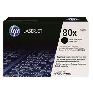 HP 80X High Yield LaserJet Toner Cartridge Black CF280X