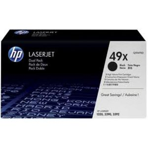 HP Q5949XD Toner Black Twin Pack