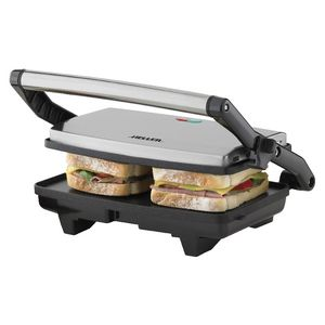 Heller Professional Stainless Steel Sandwich Press 2 Slice