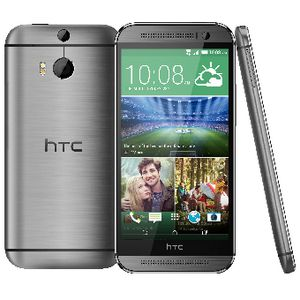HTC One M8 Grey Metal Body Phone